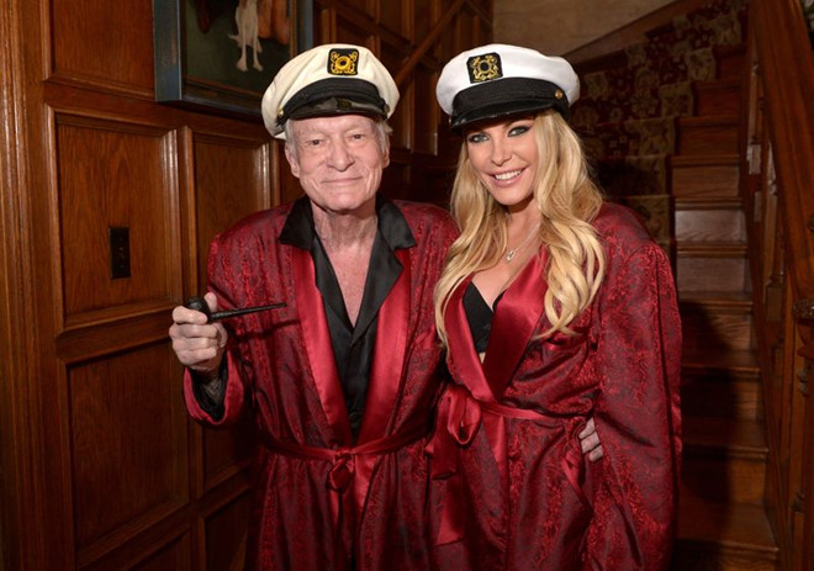 Hugh Hefner và Crystal Hefner - người vợ cuối cùng của ông.