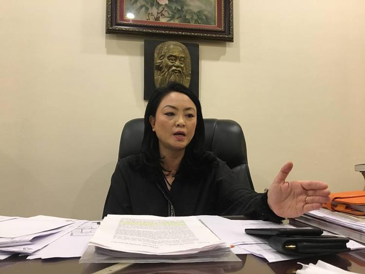 Bà Văn Thùy Dương, Phó hiệu trưởng trường Lương Thế Vinh.