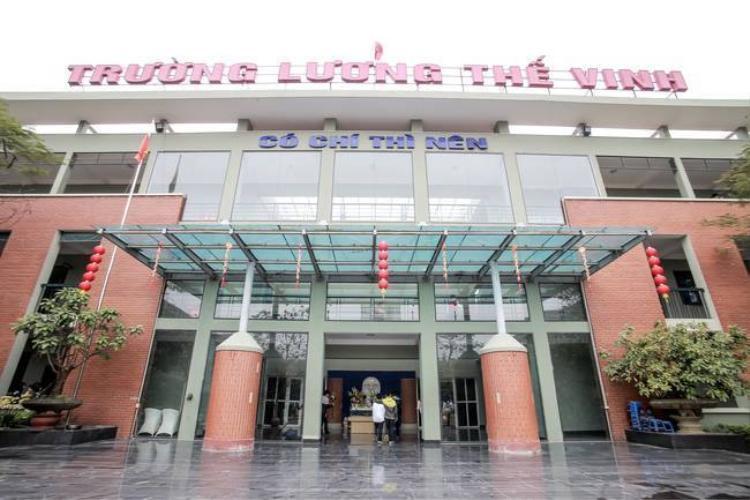 Trường THPT Lương Thế Vinh - Hà nội.