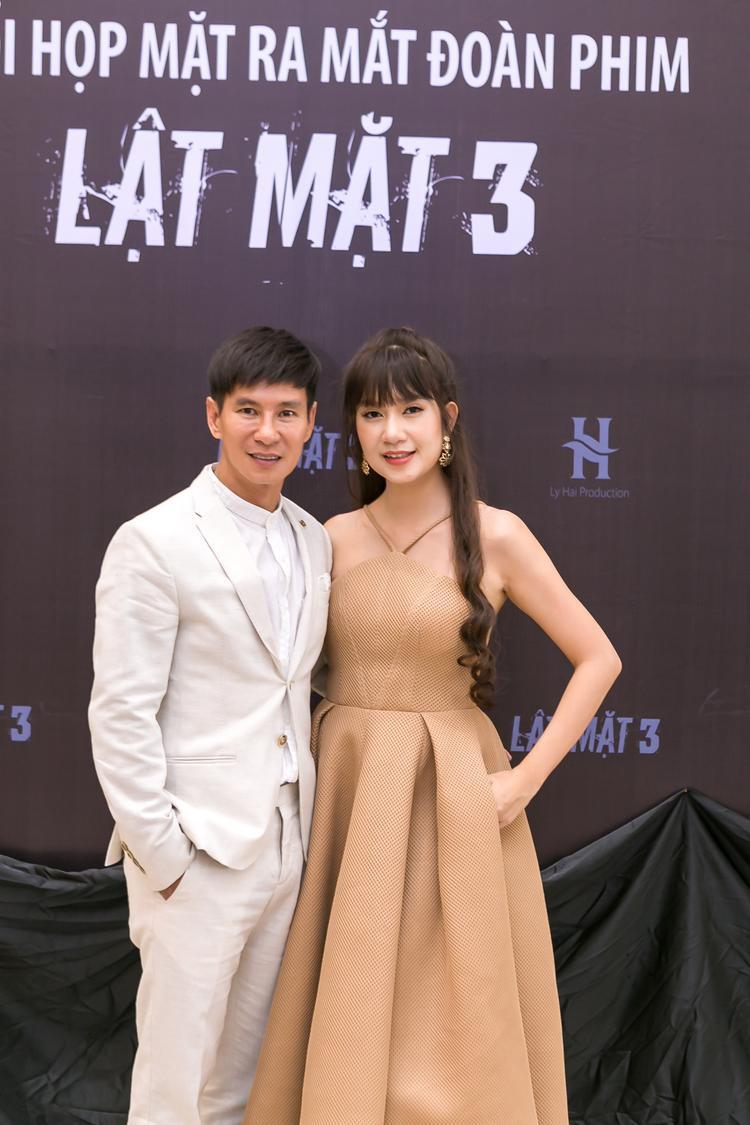 Vợ chồng Lý Hải - Minh Hà.