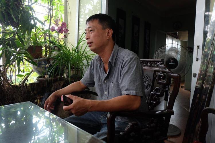 Anh Hạnh là một người đàn ông hiền lành, chưa từng đánh đập vợ, con như clip lan truyền trên MXH.
