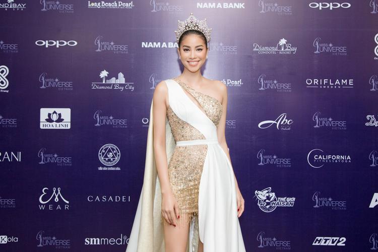 Đương kim Hoa hậu Hoàn vũ Việt Nam Phạm Hương.