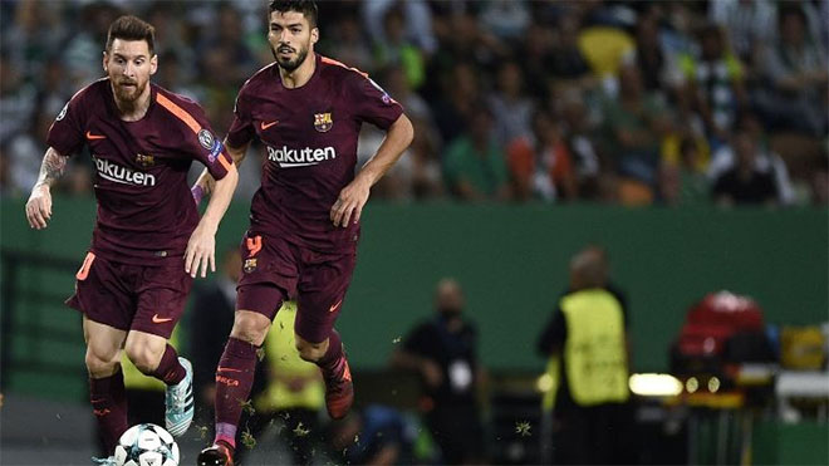 Messi và Suarez cần tái hiện đỉnh cao phong độ.