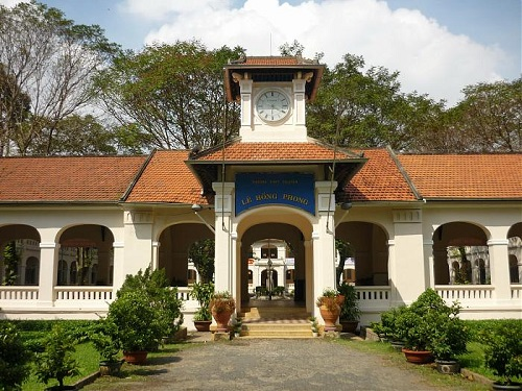 Trường TPPT chuyên Lê Hồng Phong là cái nôi đào tạo nhiều nhân tài của Việt Nam