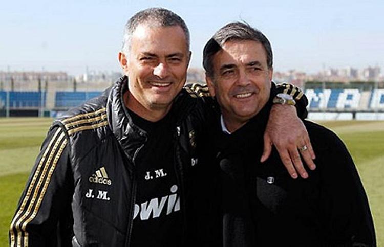 Ricardo Formosinho đang là trợ lý của Mourinho.