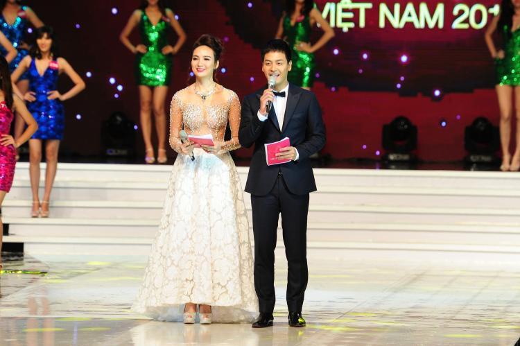 Phan Anh từ là MC của Hoa hậu hoàn vũ Việt Nam 2015…
