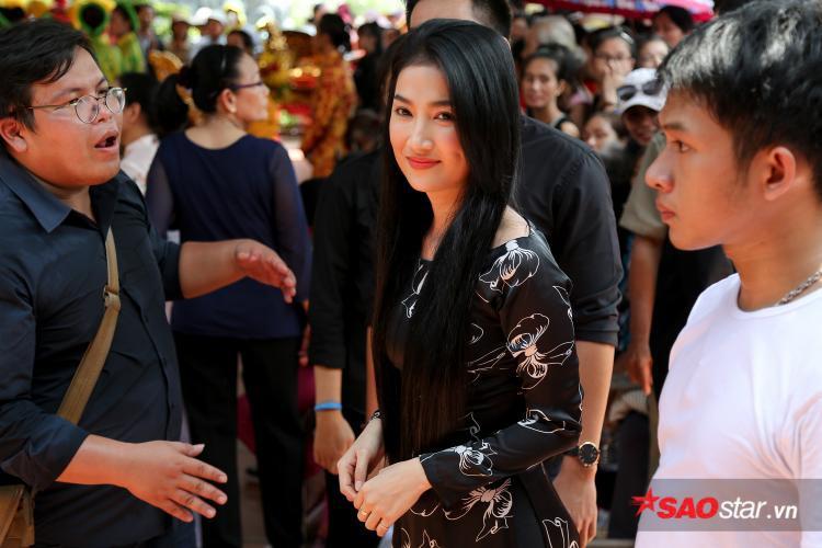 Nữ diễn viên Quỳnh Lam