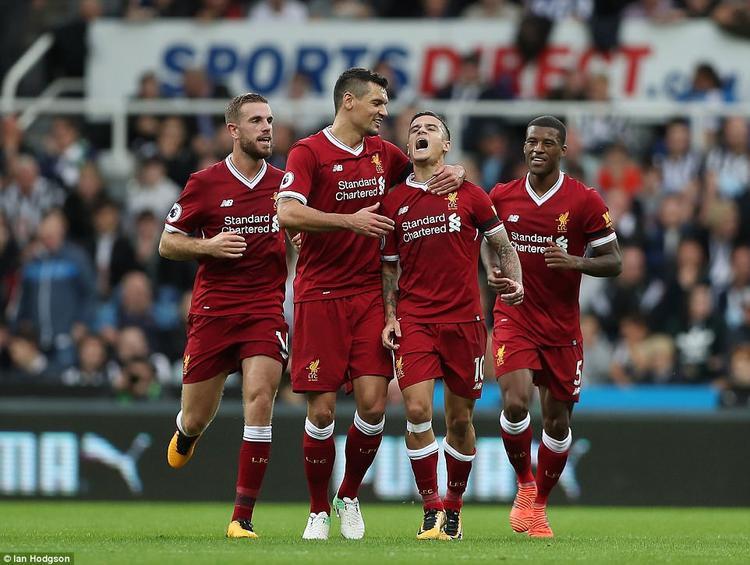 Liverpool không giữ được lợi thế dẫn bàn dù vươn lên dẫn trước.