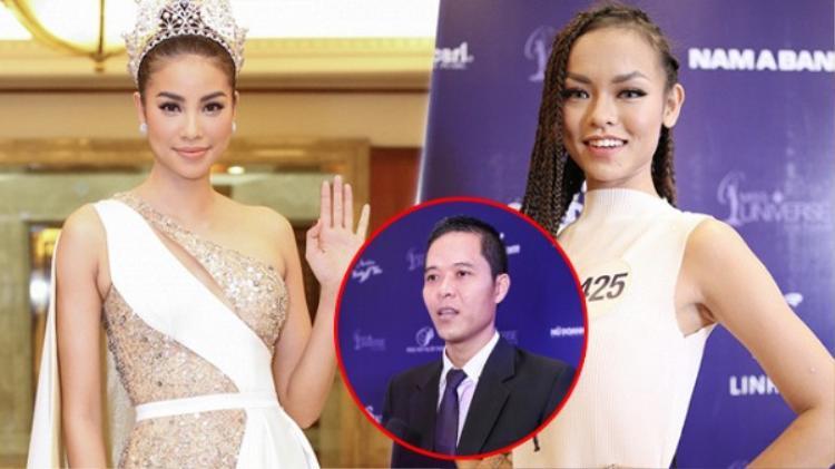 Mai Ngô ngầm thừa nhận không còn đồng hành cùng Hoa hậu Hoàn vũ Việt Nam 2017?