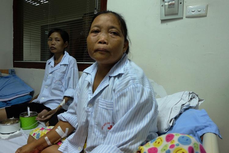 Bà Thuyết buồn khi phải chia tay GS Nguyễn Anh Trí.