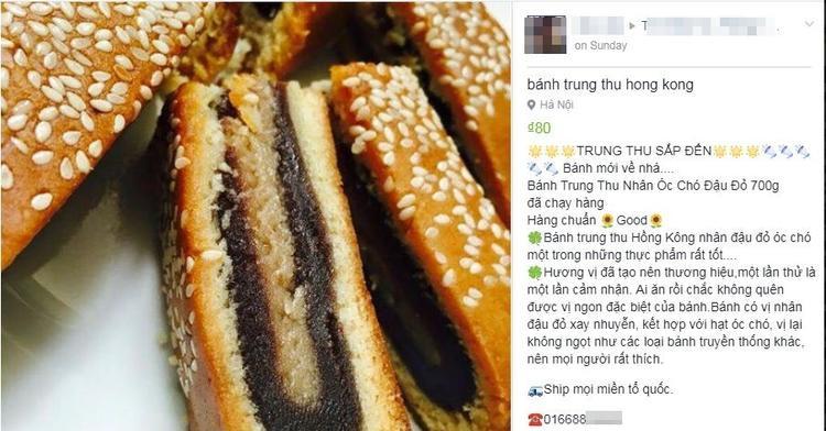 Bánh Trung thu HongKong giá rẻ.