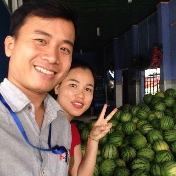 Thầy Ngọc Ánh và vợ