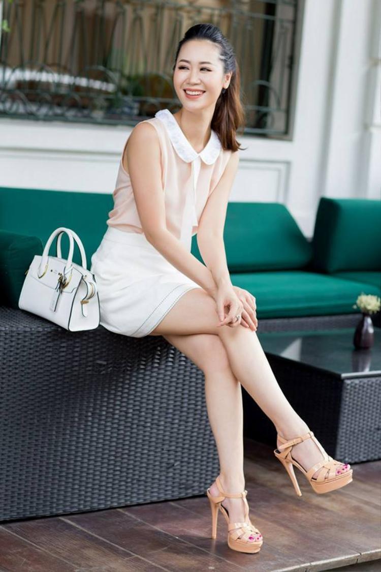 Miss Thân thiện Hoa hậu Hoàn vũ Việt Nam 2008 Dương Thuỳ Linh.
