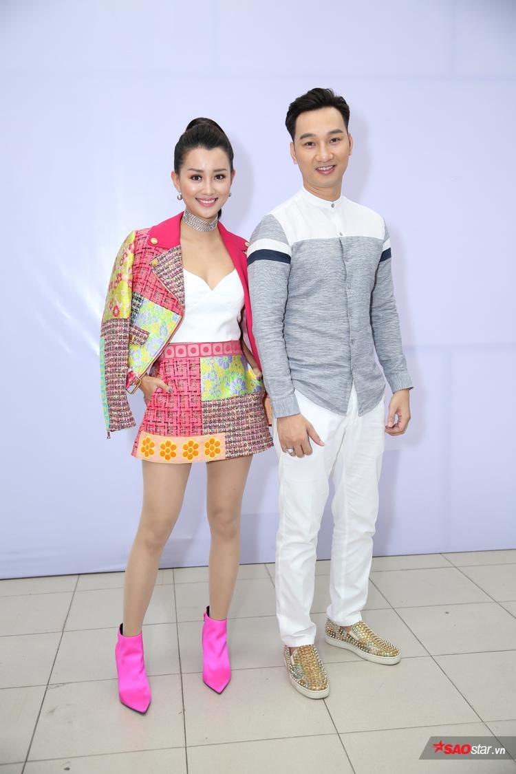 Bộ đôi MC Quỳnh Chi - Thành Trung.