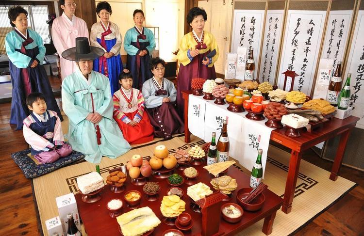 Chuseok là dịp để các gia đình ở Hàn Quốc quây quần bên nhau.