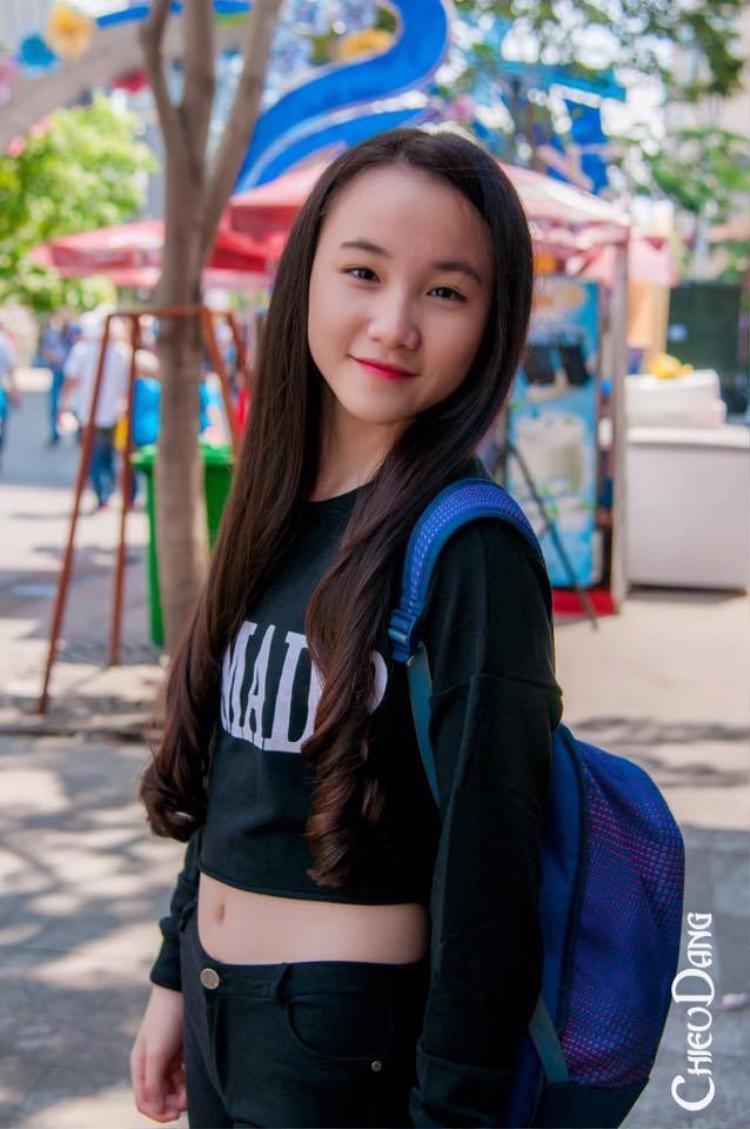 Châu Ngọc Tuyết Sang sinh năm 2005 là em gái ruột của hot-girl làng võ nổi tiếng Châu Tuyết Vân.