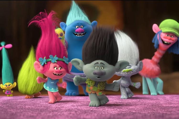 Những chú quỷ lùn tinh nghịch Troll.
