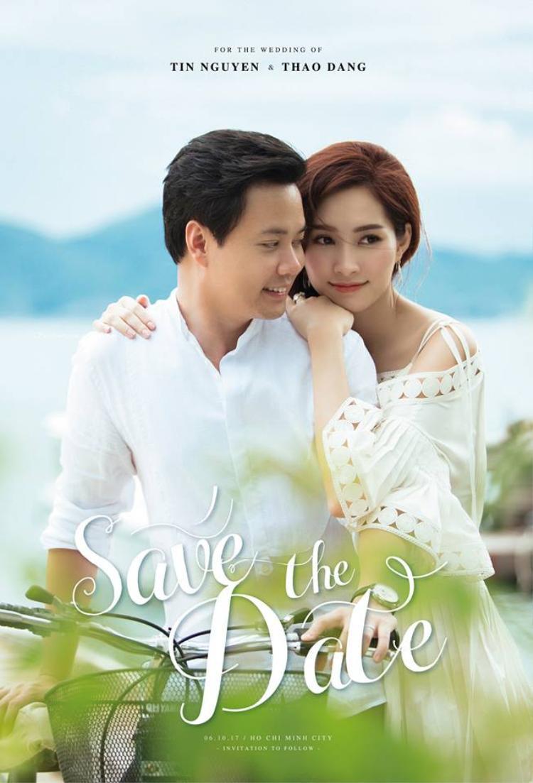 Ngày 6/10, hôn lễ của Thu Thảo và Trung Tín sẽ được tổ chức tại một nhà hàng sang trọng ở TP.HCM.