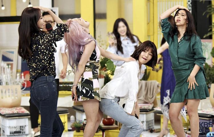 Gánh xiếc SNSD đại náo Happy Together của Mc quốc dân Yoo Jae Suk.