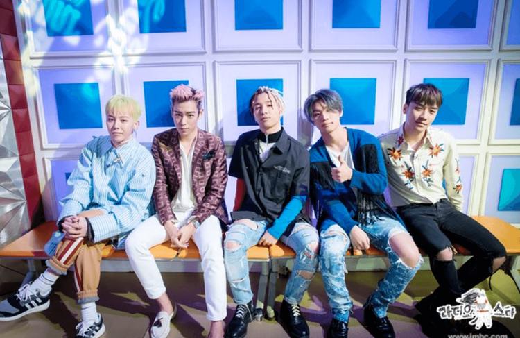 BigBang được xem như con cưng của các show giải trí.