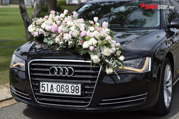 Mỗi xe đều được trang trí đẹp mắt…
