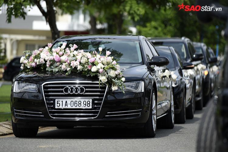 … Theo xe chú rể đến đón dâu.