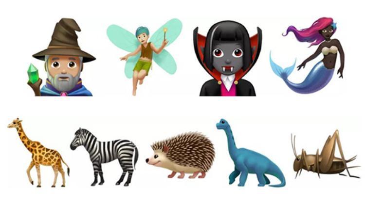 Những emoji độc đáo sắp được Apple giới thiệu trong phiên bản iOS 11.1.