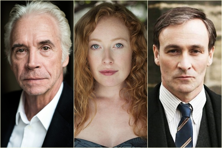Wolf Roth trong vai Spielman; Victoria Yeates (Call the Midwife) vai Bunty; Derek Riddell (The Missing) vai Torquil Travers