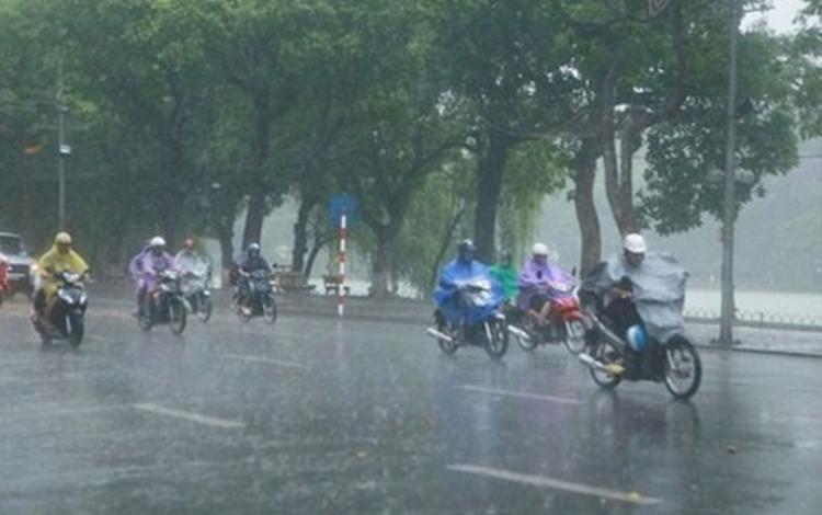Trong 3 ngày tới, Hà Nội tiếp tục có mưa.