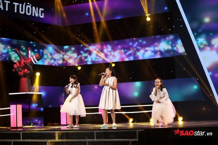 Bộ ba Ngọc Ánh - Phương Anh - Phương Linh.