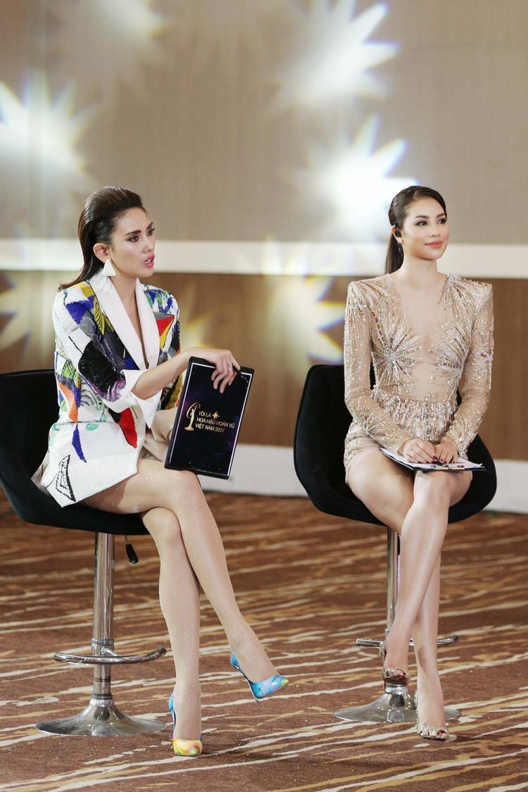 Chê Mai Ngô nhưng Võ Hoàng Yến cũng quên thể hiện đẳng cấp Hoa hậu?