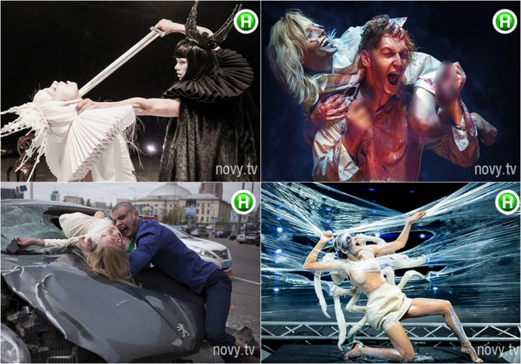 4 bộ ảnh với concept lạ lùng, đáng sợ của Ukraine's Next Top.