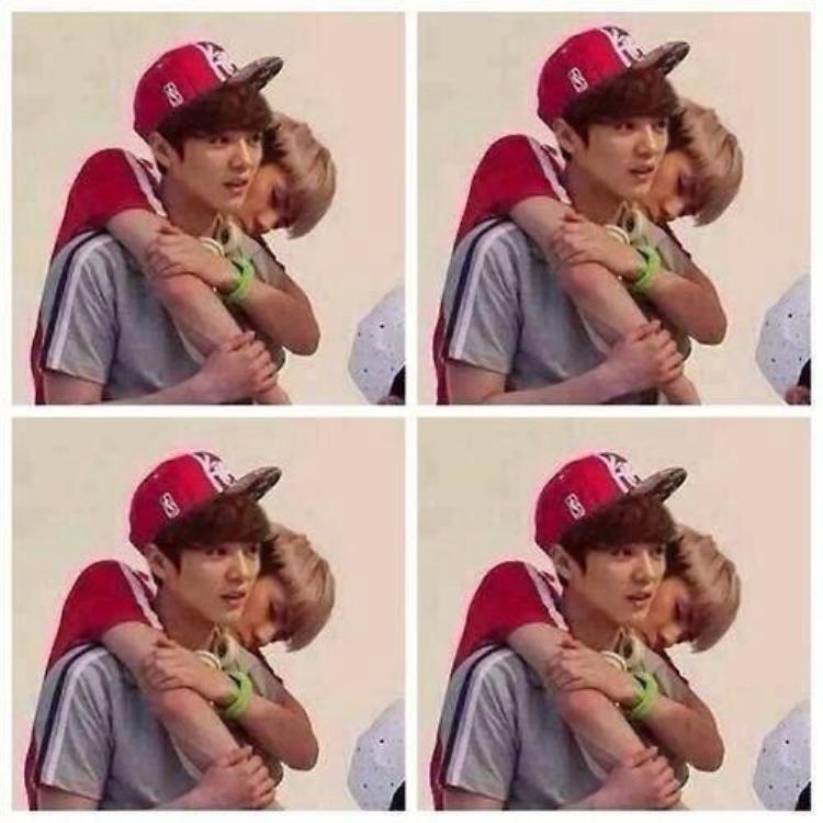 Sehun luôn thích làm nũng với Luhan.