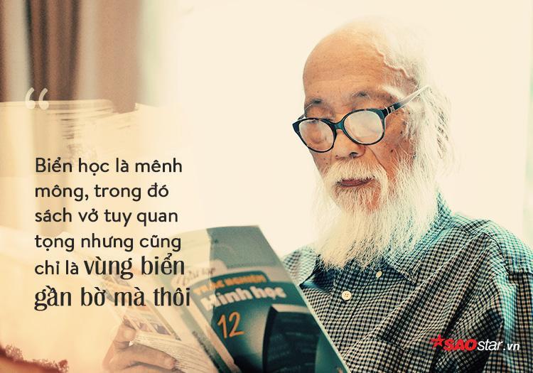 Trong ngành giáo dục, thầy Cương được biết đến là người có nhiều quan điểm tiến bộ.