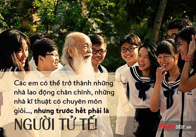 Nhân cách và tài năng của thầy là những điều khiến bao thế hệ giáo viên và học sinh THPT Lương Thế Vinh ngưỡng mộ.
