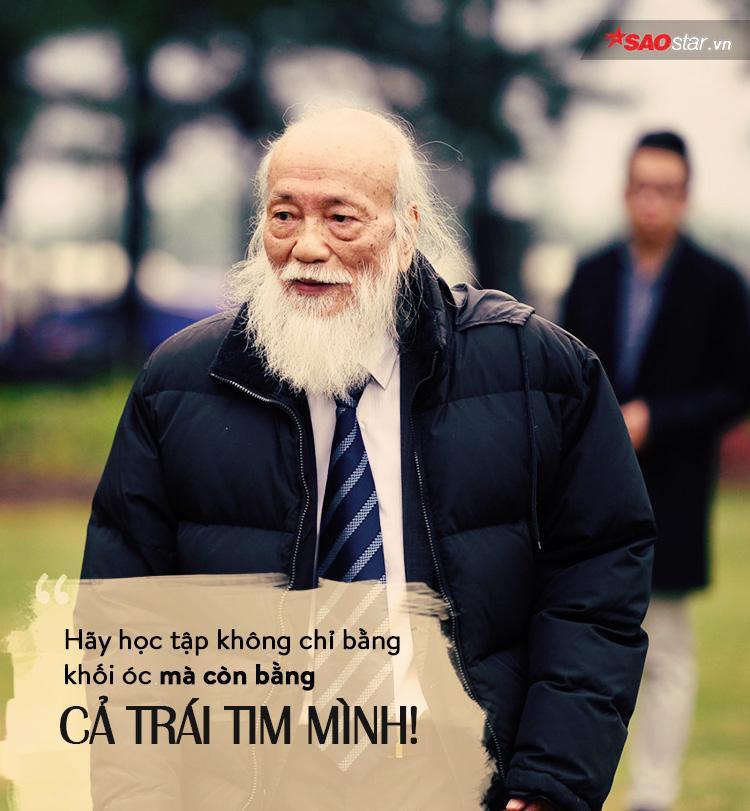Suốt cuộc đời, kể cả lúc mắc bạo bệnh, thầy đều cố gắng duy trì tinh thần sống lạc quan, tích cực.
