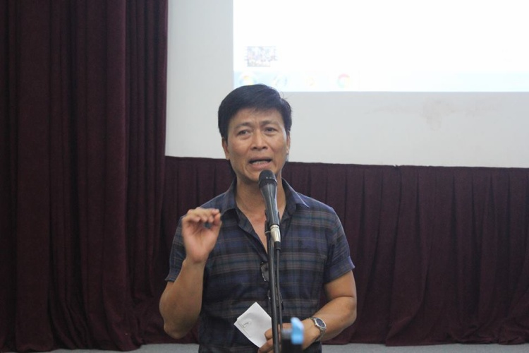 Đại gia Thủy Nguyên gây tranh cãi khi gọi diễn viên Quốc Tuấn là Chí Phèo.