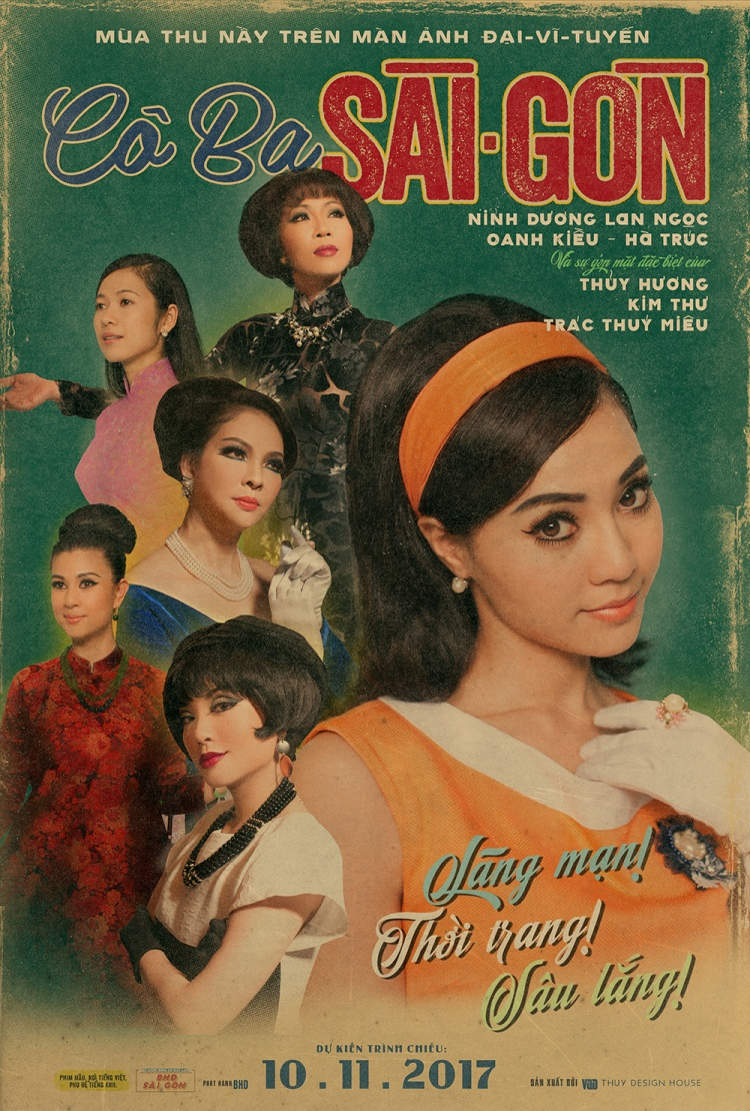 Poster phim Cô Ba Sài Gòn