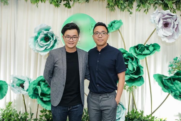 Nhạc sĩ Nguyễn Minh Cường và nhạc sĩ Nguyễn Hồng Thuận