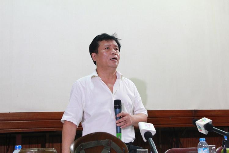 Ông Nguyễn Thủy Nguyên - Chủ tịch Tổng Công ty Vận tải Thủy VIVASO, cổ đông chiến lược Công ty CP Đầu tư và Phát triển phim truyện Việt Nam.