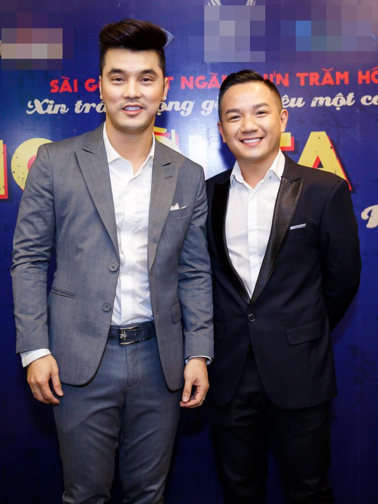 MC Anh Khoa dẫn dắt buổi họp báo.