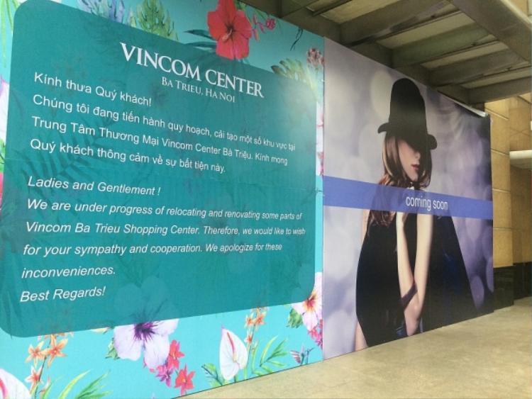 Không hề kém cạnh Zara Sài Gòn tại Vincom Đồng Khởi, store thứ hai tại Vincom Bà Triệu cũng trải dài 2 tầng lầu tại toà nhà A.