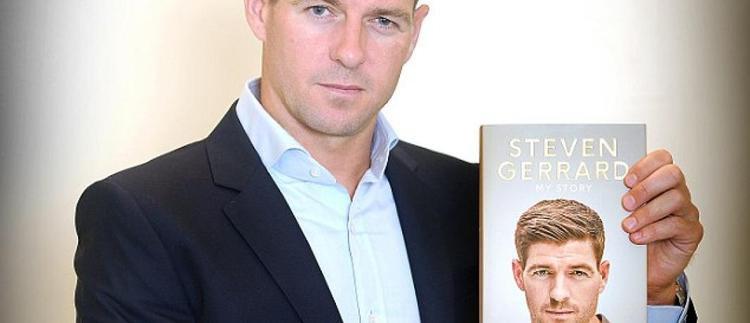 Steven Gerrard và tự truyện của anh.