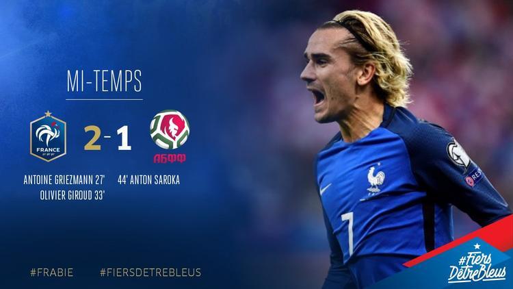 Chiến thắng giúp Pháp chiếm ngôi đầu bảng A chung cuộc.