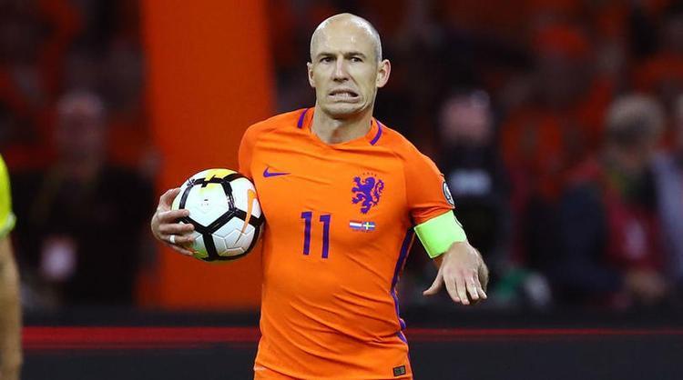 2 bàn của Robben là quá ít với Hà Lan.