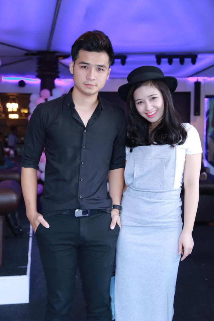 Hà Anh và Dương Hoàng Yến.