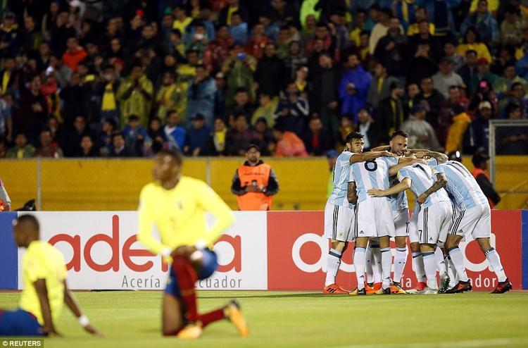 Với Messi đã trưởng thành, Ecuador không thể duy trì thành tích bất bại suốt 16 năm trước Argentina trên sân nhà.