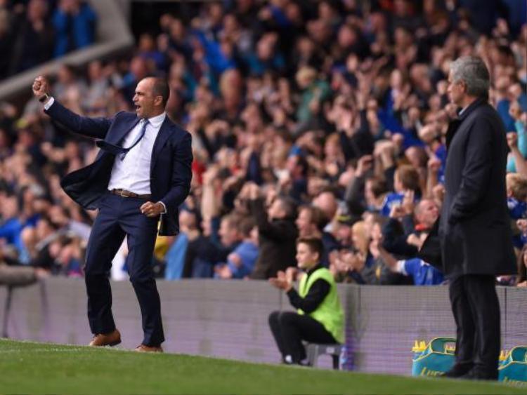 Roberto Martinez với Jose Mourinho từng có xung đột tại Premier League.