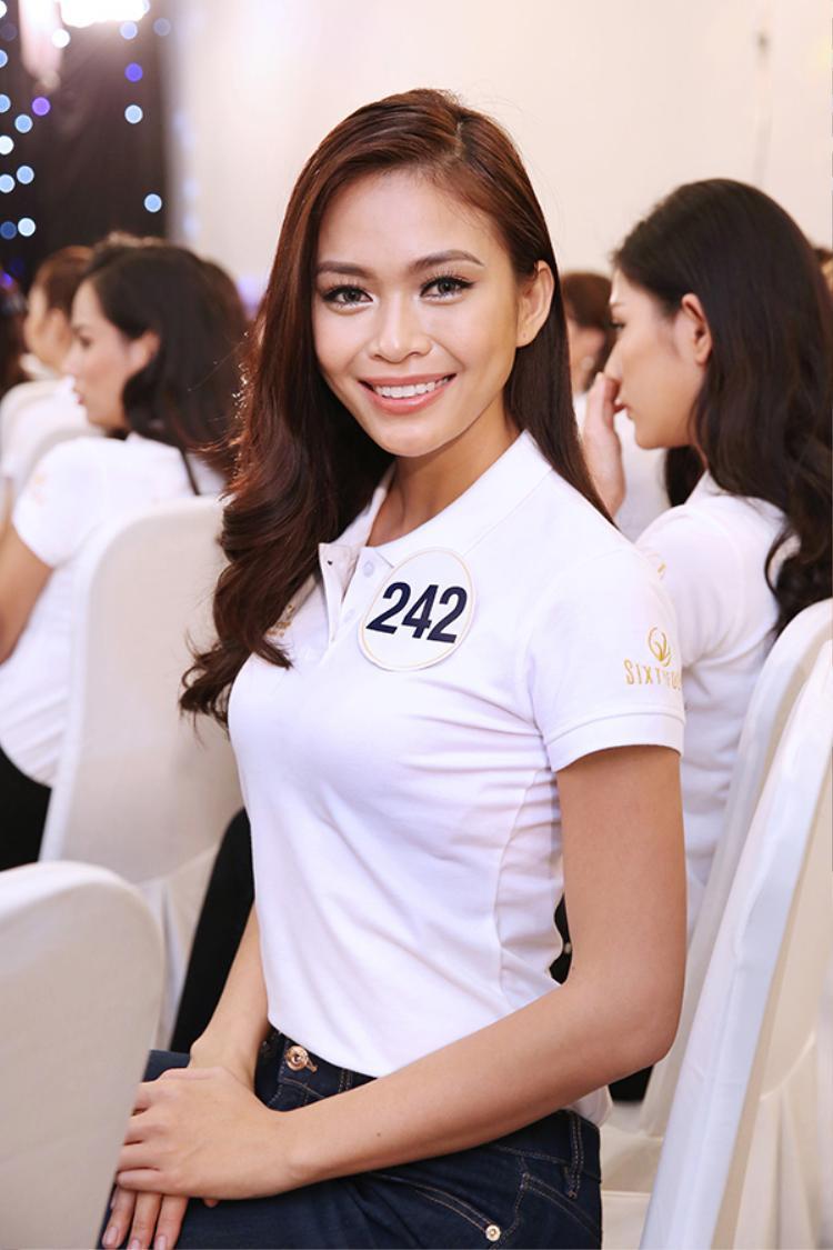 Mâu Thủy đang được đánh giá là ứng cử viên sáng giá cho ngôi vị Hoa hậu.