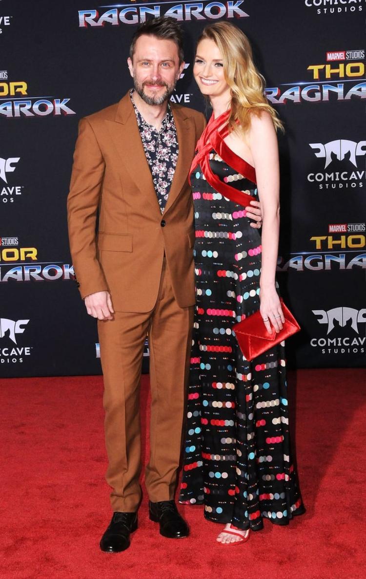 Chris Hardwick và Lydia Hearst